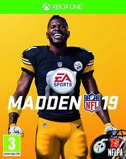 Madden NFL 19 (Xbox One) New & Sealed UK PAL INC BONUS DLC