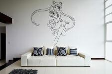 Wall Vinyl Sticker Decal Anime Manga Sailor Moon Girl VY203