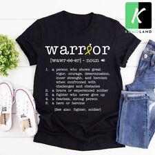 Warrior Bone Cancer Awareness t-shirt