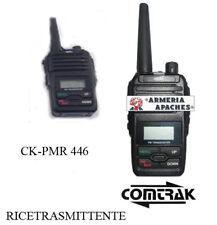 RADIO RICETRASMITTENTE COMTRAK PMR 446 COMPLETO AURICOLARE