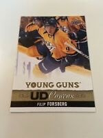 2013-14 Upper Deck Canvas #C109 Filip Forsberg YG Young Guns RC Predators USA
