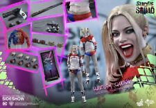 Hot Toys MMS383 Suicide Squad Harley Quinn Margot Robbie 1/6 Figure Normal - New