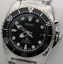 Seiko Kinetic SKA371P1 Orologio Diver's 200m Uomo Nuovo con Box e Garanzia