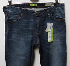 Versace Men Jeans 34 W x 35 Made in Italy Slim Fit Indigo Brand New with Tags