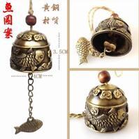 Pop bell Feng shui new varieties Chinese huge brass copper sculpture pray dragon