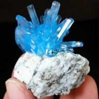 NEW! Looks Like Aquamarine - TOP Luster Sky Blue ARCANITE on MATRIX from POLAND