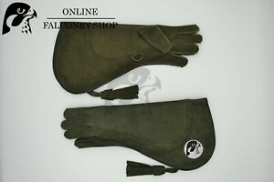 OFS Green Nubuck Eagle Glove Size Medium