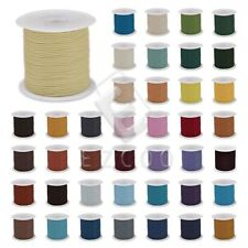 1 Roll 10M Real Leather Thread Cord DIY For Necklace Bracelet 1/1.5/2/3mm