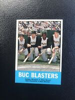 "1963 TOPPS #18 BOB CLEMENTE ""BUC BLASTERS""— HOT CARD🔥*** (wph)"