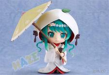 Nendoroid 303 Snow Miku Strawberry White Kimono Figure Toys Collection 10cm