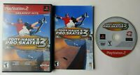 Tony Hawk's Pro Skater 3  PlayStation 2 PS2 Complete Game CIB Tested Works
