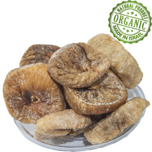 Organic Premium Dried Figs Anjeer Pure Kosher Natural Israeli Dry Fruit