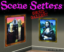 GHOUL GALLERY Scene Setter Halloween Party wall decoration Mona American Gothic
