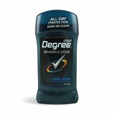 Degree Men Invisible Solid AP Deodorant, Cool Rush, 2.7 oz (Pack of 12)