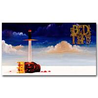 21 24x36in P-525 Art Kanye West Graduation Cute Bear Rap LW-Canvas Poster