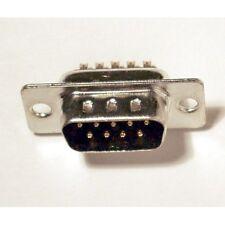 Connecteur à souder DB9 9 broches mâle - DB9 solder connector 9 pins male