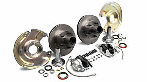 1966-1975 Early Ford Bronco Front Disc Brake Conversion, New, Dana 30 & 44