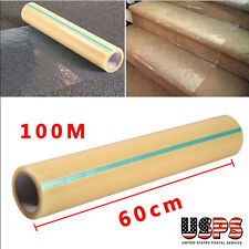 """Carpet Protector Self Adhesive Plastic Protection Film 24"""" X 328ft for Rug"""