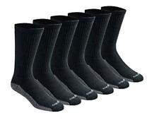 Dickies Men's Multi-pack Dri-tech Moisture Control Crew Socks 6-12 Size
