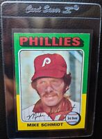 1975 TOPPS #70 MIKE SCHMIDT PHILADELPHIA PHILLIES HOF MINT PRINT DEFECT PD