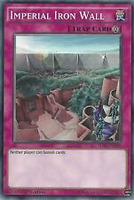 YU-GI-OH CARD: IMPERIAL IRON WALL - SDSE-EN038 1ST EDITION