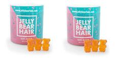 2x Jelly Bear Hair Haar Vitamin Gummibärchen für gesundes starkes dichtes Haar