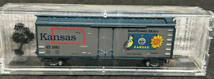 Micro-Trains 02100396 N-Scale Kansas State Boxcar 1861