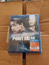Point Break Blu-ray w/ Digital Hd Brand New Sealed Patrick Swayze, Keanu Reeves