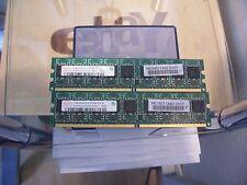 2GB (2x1GB) HYNIX HYMP512U72CP8 - DDR2 - 667Mhz - PC5300 - ARBEITSSPEICHER