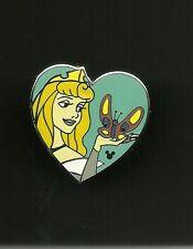 Sleeping Beauty Princess Aurora Heart Butterfly Splendid Walt Disney Pin