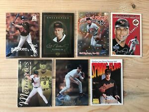 Cal Ripken Jr Lot 14 cartes MLB Baseball Orioles