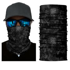 Multi-fun Jungle Face Shield Sun Mask camo Neck Gaiter Balaclava Fishing Scarf