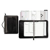 Day-Timer Vinyl/Microfiber Briefcase Starter Set 5 1/2 x 8 1/2 White 44531