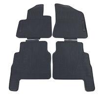 Premium Gummi Fußmatten Set 4-teilig Schwarz für Hyundai Santa Fe CM 06-12