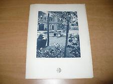 MENU MOTONAVE SEBASTIANO CABOTO COLAZIONE PRANZO 8-7-1948 SALSOMAGGIORE PISCINA
