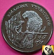 1986 Rare Sainte-Lucie Amazone préserver Planet WWF pour la nature pour pièces, médailles