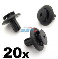 20x 7mm Plastic Trim Clips Para Subaru Rueda Arco Forros & Motor Bay cubre