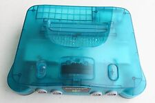 Nintendo 64 Ice Blue Funtastic Series Console TESTED *System Only* Rare Color