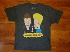 MTV Beavis And Butt-Head Show Comedy Gray T Shirt Size L