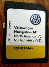 VW Volkswagen Golf E NAVIGATION V2 SD Card 5G0-919-866 H North America 2014 OEM