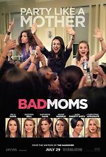 Bad Moms Movie Poster (24x36) - Mila Kunis, Kathryn Hahn, Kristen Bell v1