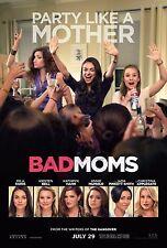 Bad Moms Movie Poster (24x36) - Mila Kunis, Kathryn Hahn, Kristen Bell v1