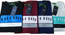 HUGO BOSS T-SHIRT Men's Short Sleeve Crew Neck BOX LOGO Original Brand New