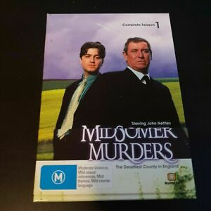 Midsomer Murders Season 1 Box Set BBC UK John Nettles Region 4
