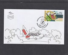 Israel 2017 Buckle Up For Life Post & Go Frama  First Day Cover FDC
