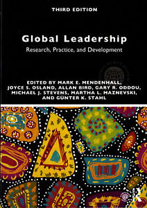 Global Leadership: Research, Practice & Development, Mark Mendenhall et al 2018