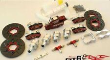 4 wheel hydraulic braking set FOR 1/5 HPI BAJA ROVAN KM FID GTB 5B 5T PARTS