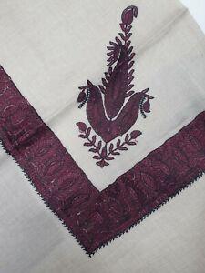 Yemeni Arab Shawl Embroidery Shemagh headscarf muslim gents sufi floral scarf