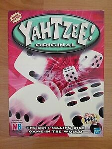 Yahtzee Original Game - 2002 Hasbro - 100 % Complete - Very Good Condition