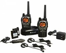 2-Way Radio Set 36-Mile 50-Channel FRS/GMRS 120V Charger VOX Hand Free Operation